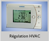 Régulation HVAC